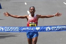 Meb Wins Boston Marathon