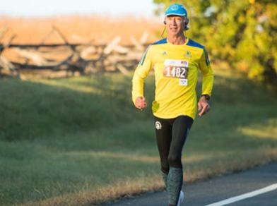 Dave Mart running race