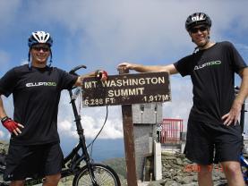 Bryce and Bryan Top of Mount Washington