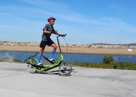 Meb Keflezighi Trains on ElliptiGO Bike