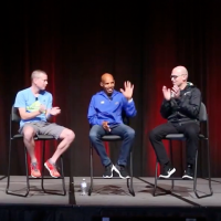 Meb at the Running Event
