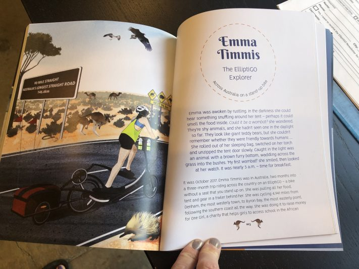 EllitpiGO Rider Emma Featured In Children's Book