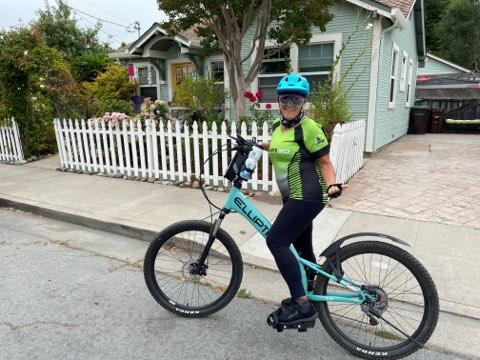 Nikki Shoemaker our August Rider of the Month