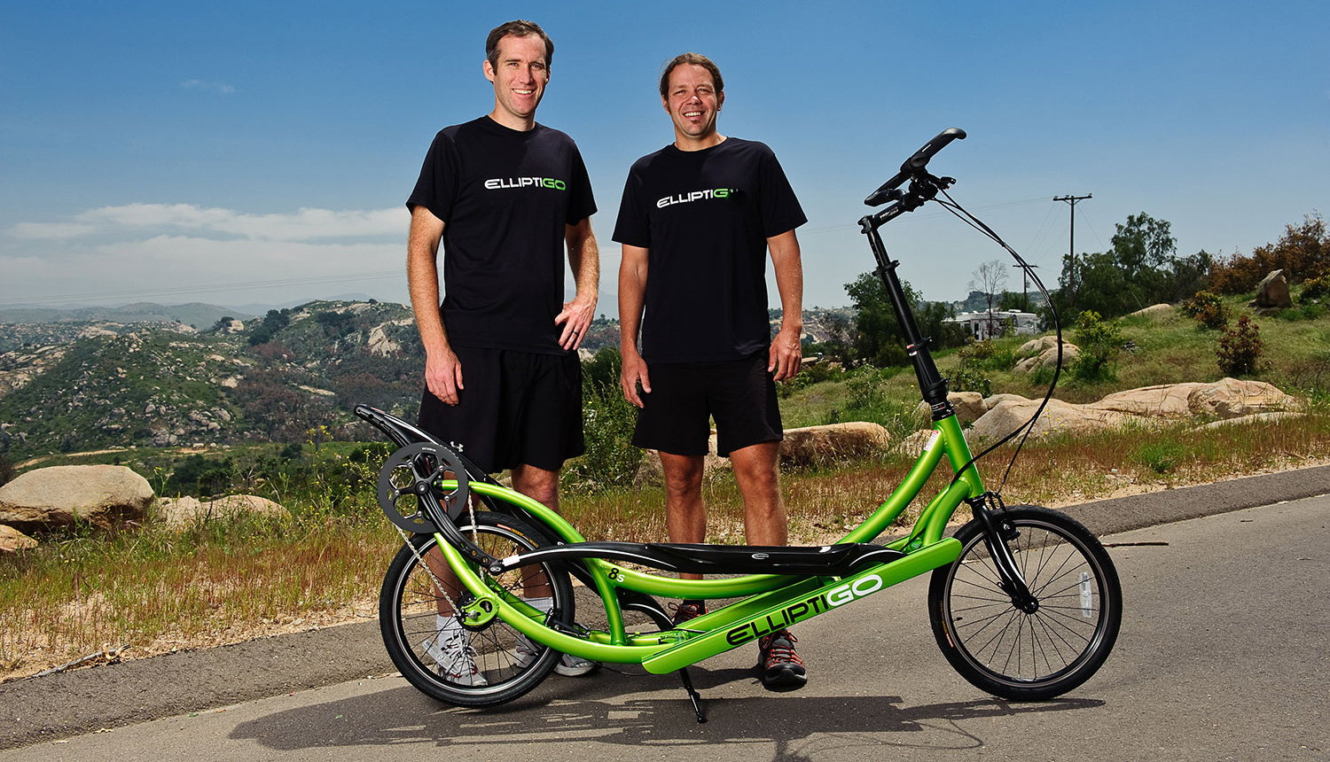 Bryan and Brent Long- Stride Bike