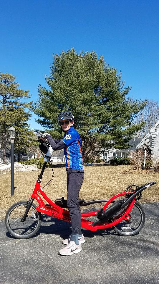 Gretchen Evans is our March Rider of the Month.